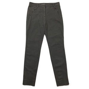 Dolce & Gabbana Gray Zipper Pockets Skinny Pant